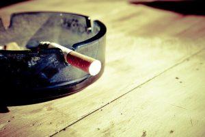 Snurken door roken